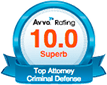 Avvo Rating Top Attorney Criminal Defense