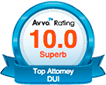 Avvo Rating Top Attorney DUI